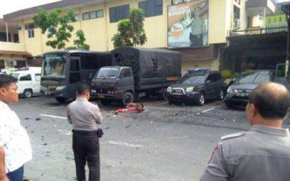 Enam Orang Terluka akibat Ledakan di Polrestabes Medan