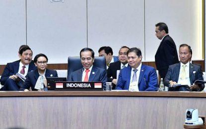 Presiden Jokowi Dorong Kerjasama Hard dan Soft Connectivity ASEAN-Korea
