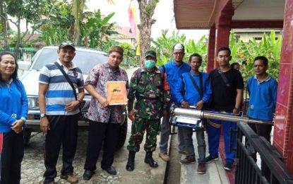 Kelurahan Titian Antui Lakukan Giat Kamis Bersih Sekaligus Fogging