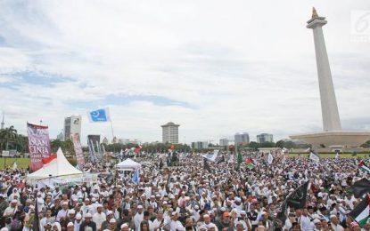 Jelang Reuni 212 , Massa dari Luar Sudah Mulai Bergerak Menuju Jakarta
