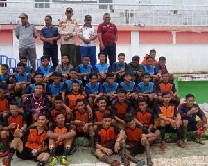 Sekda Rohil Buka Pertandingan Cabor Sepakbola