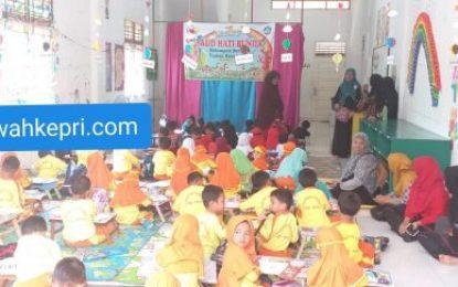 Tingkatkan Kreativitas dan Percaya Diri, TK Kelurahan Pematang Pudu Ikuti Lomba Mewarnai dan Bazar