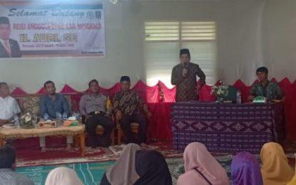 Ketua Komisi III DPRD Kabupaten Bengkalis H. Adri Menjemput Aspirasi Masyarakat Talang Mandi