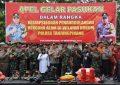Polres Tanjungpinang Gelar Apel Pasukan Kesiapsiagaan Penanggulangan Bencana