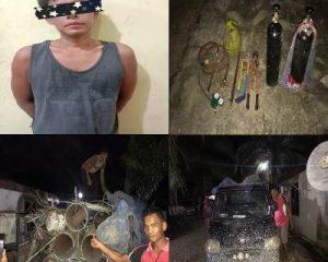 Diduga Mencuri Besi Milik Perusahaan, Polsek Pinggir Amankan Seorang Pemuda