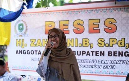 Hj. Zahraini Apresiasi Ide dan Masukan dari Masyarakat saat Reses