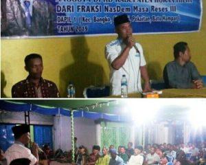 Basiran Nur Efendi Reses bersama Masyarakat Kampung Medan
