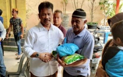 Tutup Tahun 2019, Pemko Batam Bagikan 1.000 Paket Sembako Murah di Seipanas