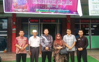 DR. Misharti Kunjungi Rumah Sakit Thursina Duri