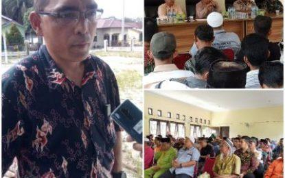 PT. GSI Sosialisasikan Survei Seismik kepada Warga Padang Luas