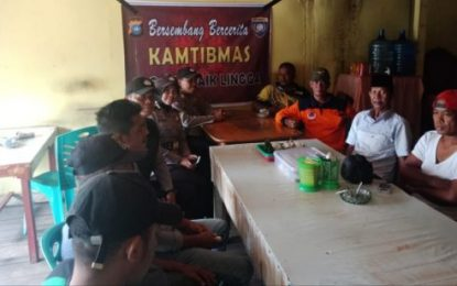 Polsek Daik Rangkul Masyarakat Bersembang Cerita Jaga Kamtibmas
