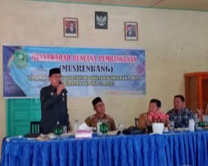 Wakil Ketua DPRD Tampung Aspirasi Warga Kelurahan Bandarsyah
