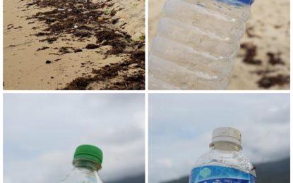 Sampah Kiriman Negara Tetangga Hiasi Pantai Natuna ?