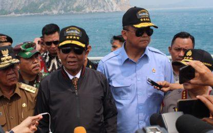 Kunjungi Natuna, Mahfud Tindak Lanjuti Inpres Jokowi