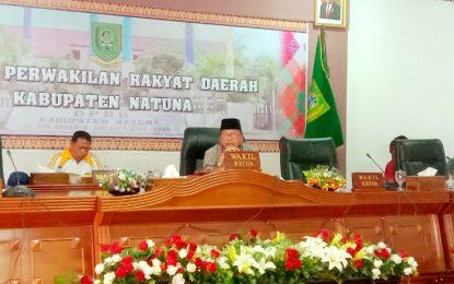 Jarmin Pimpin Hearing dengan BWI Natuna