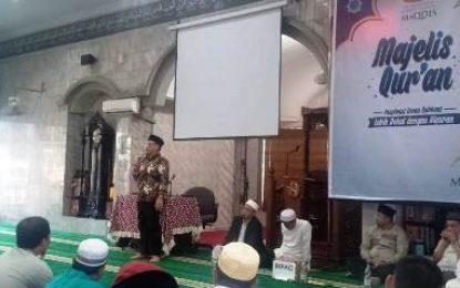 Ketua DPRD Kabupaten Bengkalis Hadiri Acara Majelis Qur'an Maqdis Ibadurrahman Ke-60
