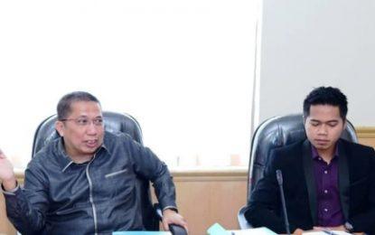 Ketua Komisi III DPRD Kabupaten Bengkalis Pimpin Rapat Kerja Terkait BUMD