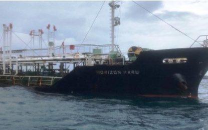 Ditpolair Korpolairud Baharkam Polri Amankan Pelaku Pencurian di Kapal Tanker MT. Horizon Maru