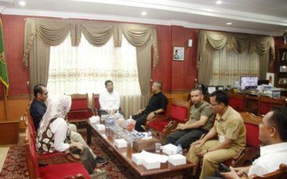 Temui Ketua DPRD Batam, Komisoner KPU Batam Keluhkan Minimnya Anggaran untuk Sosialisasi APK