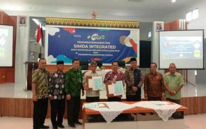 Pemkab Lingga dan BPKP Provinsi Kepri Jalin MoU Simda Integrated