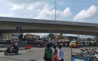 Seorang Polisi Diduga Lompat dari Fly Over Jamin Ginting