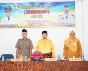 Kelurahan Talang Mandi Gelar Musrembang, Ada Tiga Usulan Prioritas