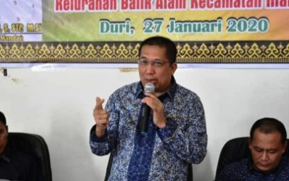 Anggota DPRD Kabupaten Bengkalis Hadiri Musrenbang Tingkat Kelurahan