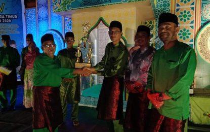 MTQ Lingga Timur Berakhir, Desa Bukit Langkap Juara Umum