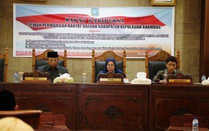 Lima Fraksi DPRD KKA Setuju Tiga Ranperda Dilanjutkan