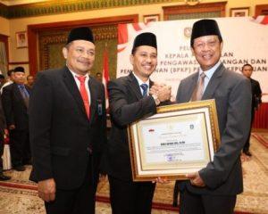 Isdianto Lantik Ichsan Fuadi jadi Kepala BPKP Kepri
