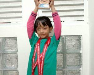 Aliya Khoirunnisa Azhari Harumkan Nama Sekolah dan Kabupaten Bengkalis dalam Cabang Renang
