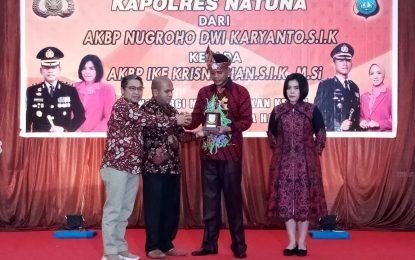 Anggota DPRD Hadiri Pisah Sambut Kapolres Natuna
