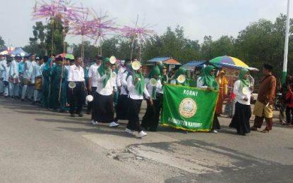 DPD KORNI Karimun Ikuti Pawai Taaruf MTQ Tingkat Kecamatan Karimun