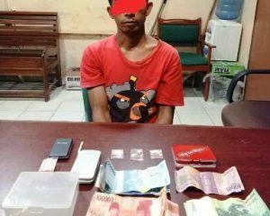 Unit Reskrim Polsek Mandau kembali Ringkus Pengedar Narkoba