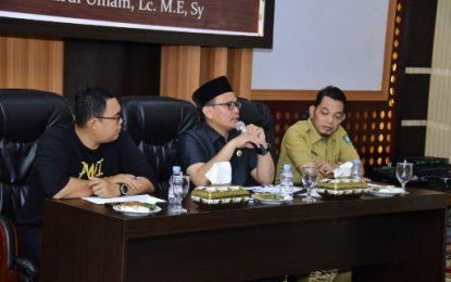 Ketua DPRD Bengkalis Gelar Pertemuan dengan Awak Media