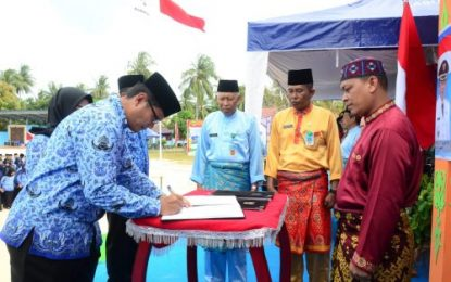 Lantik 251 PNS, Wakil Bupati Lingga: Jadilah Pegawai yang Disiplin