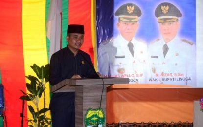 Hadiri Musrenbang Kabupaten, Ini Pesan Ketua DPRD Lingga
