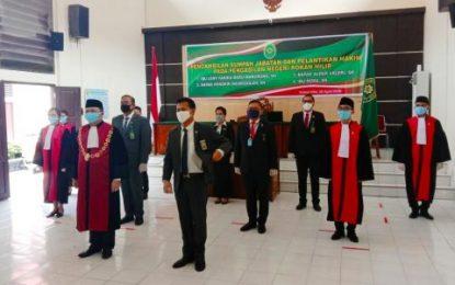 Ketua PN Rohil Lantik Empat Hakim Pratama