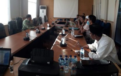 Pengurus Cabor KONI Bengkalis Hearing bersama Ketua Komisi III DPRD Bengkalis