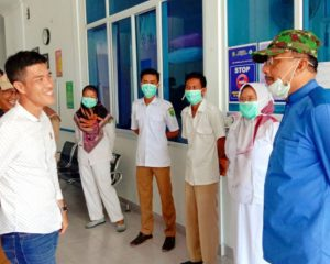 Hamid Rizal Pastikan Tim Covid Bekerja di Perbatasan
