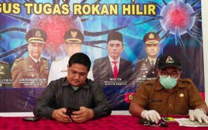 Kabupaten Rohil Terima Bantuan 500 Rapid Test dari Provinsi Riau