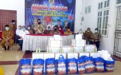 Berbagai Perusahaan Berikan Bantuan Penanganan COVID-19 melalui Pemkab Rohil
