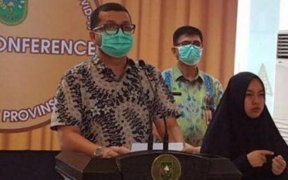 Provinsi Riau Tambah 3 Kasus Positif Covid-19, 2 Orang dari Kabupaten Bengkalis