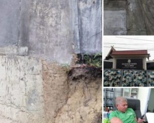 Mengaku Kesal, Haryantomas akan Utuskan Tim untuk Periksa Pembangunan Pagar Kejari Pangkalan Kerinci