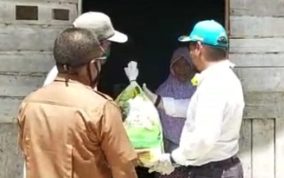 Bantuan Covid-19 Pemkab Pelalawan Diduga Dijadikan Objek Politik Salah Satu Balon Bupati