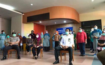 Lima Pasien Covid-19 di RSBP Batam Dinyatakan Sembuh