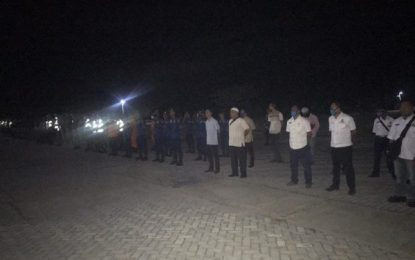 Bupati Pimpin Apel Kesiapsiagaan dalam Rangka Pengamanan Idul Fitri