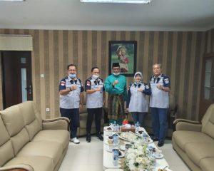 Bupati Rohil dan Kakanwil Kumham Riau Bahas Pembangunan Lapas Ujung Tanjung