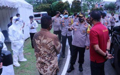 Wakapolda Kepri Cek Pelabuhan Internasional BBT dan Kawasan Wisata Lagoi Jelang New Normal