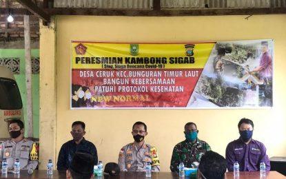 Kapolres Natuna Resmikan Kambong Sigab